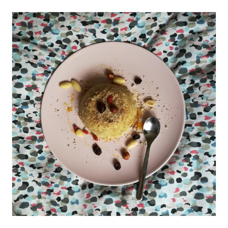 bowlcake aux fruits secs