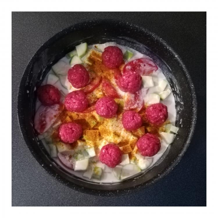 boulettes au curry