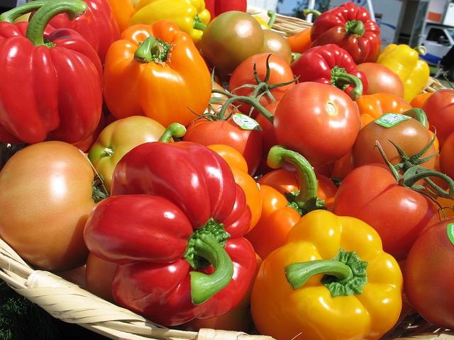 poulet basquaise tomates et poivrons